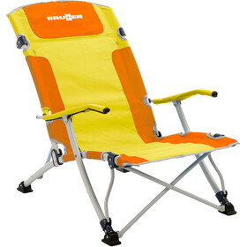 Brunner Bula XL - Siège camping - jaune/orange
